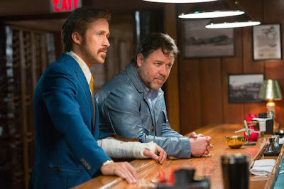 Image of Ryan Gosling and Russell Crowe in The Nice Guys