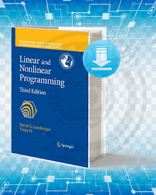 Free Book Linear And Nonlinear Programming pdf.