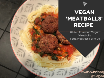 Vegan Meatballs feat. Meatless Farm Co