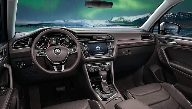Volkswagen Tiguan AllSpace L - painel