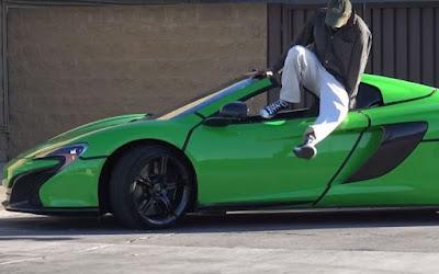 Τι συμβαίνει όταν πας να κλέψεις μια McLaren 650S Spider αξίας 260.000 ευρώ