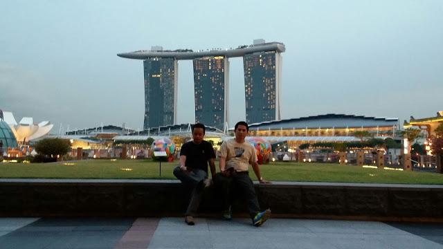 Wisata Singapura - Marina Bay Sands Sky Park