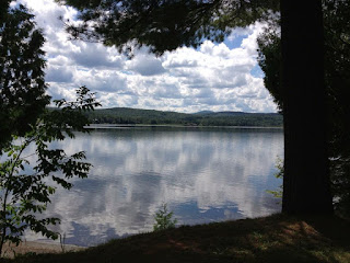 A lake on the southern boarder of Quebec and northern boarder of Vermont. This picture is the essence of still water.