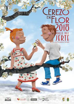 Cerezo en Flor 2018. Valle del Jerte
