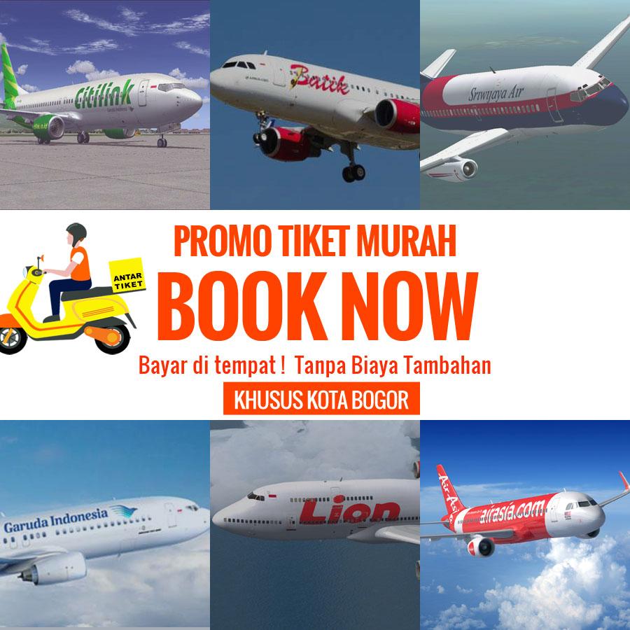 Promo Tiket Pesawat di Bogor