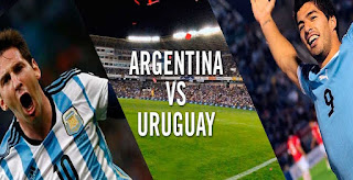 Argentina vs Uruguay Live Stream Football online World Cup Qualifiers today 31-August-2017