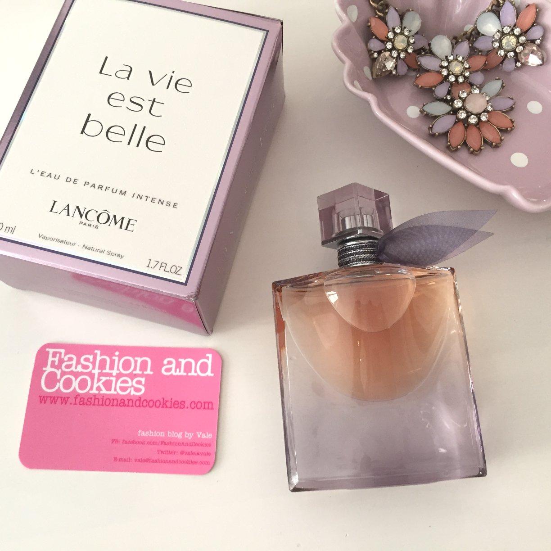 lanc me la vie est belle l 39 eau de parfum intense fashion and cookies fashion and beauty blog. Black Bedroom Furniture Sets. Home Design Ideas