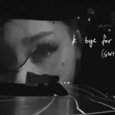 Ariana Grande - k bye for now (swt live)