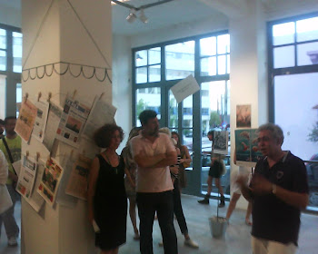 FROM THE INAUGURATION OF THE EXHIBITION=[[HISTORY OF CRISIS IN GREEK CARTOONS]]