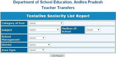AP Teacher Transfers Seniority List 2015