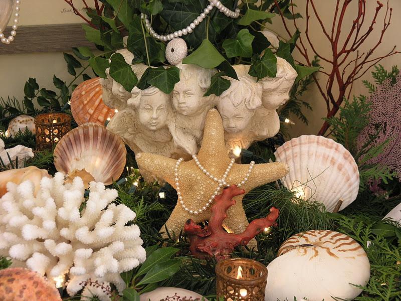 C Est Si Bon La Joie De Vivre Natural Christmas Decor Seashore