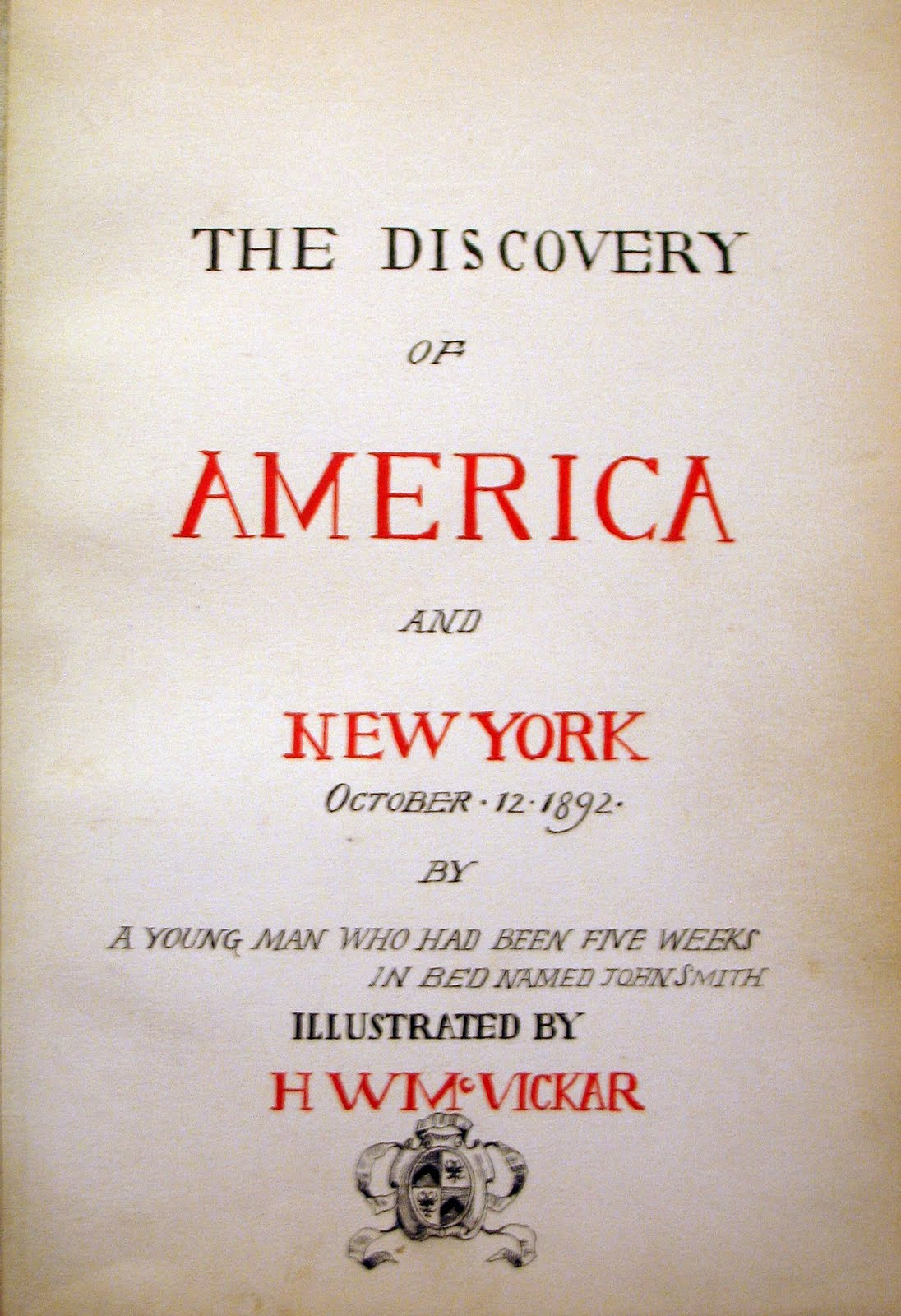 Booktryst The Discovery Of America And New York In