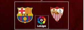 بث مباشر مباراة برشلونة واشبيلية اليوم