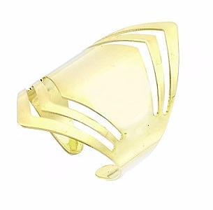 Comprar Anel de Chapa Ajustável Folheado a Ouro