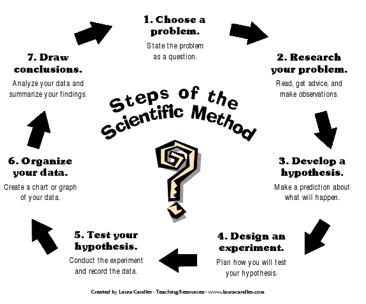 Second2Grade: Scientific Method Poster