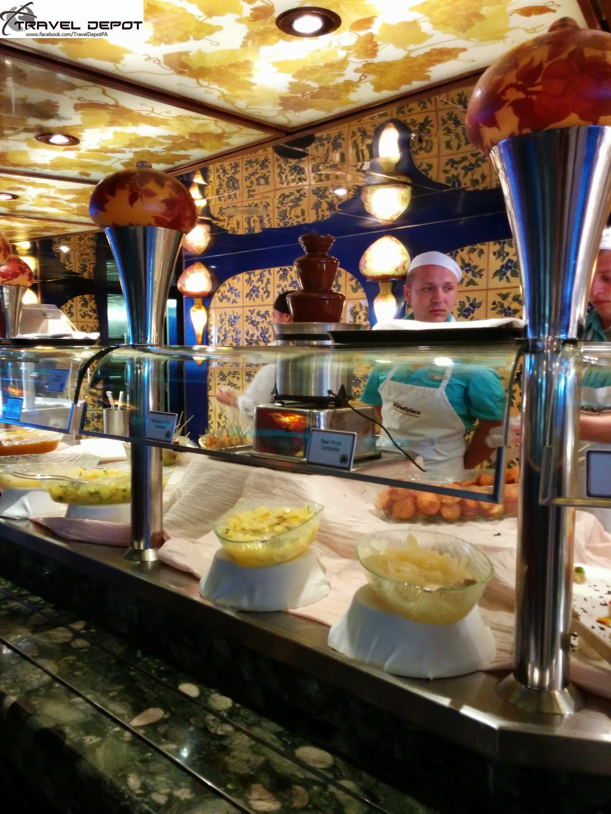 Yummy Food Aboard The Carnival Liberty Travel Depot