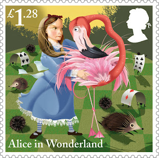 Reino Unido - Filatelia - 2015 - Alice in Wonderland 08