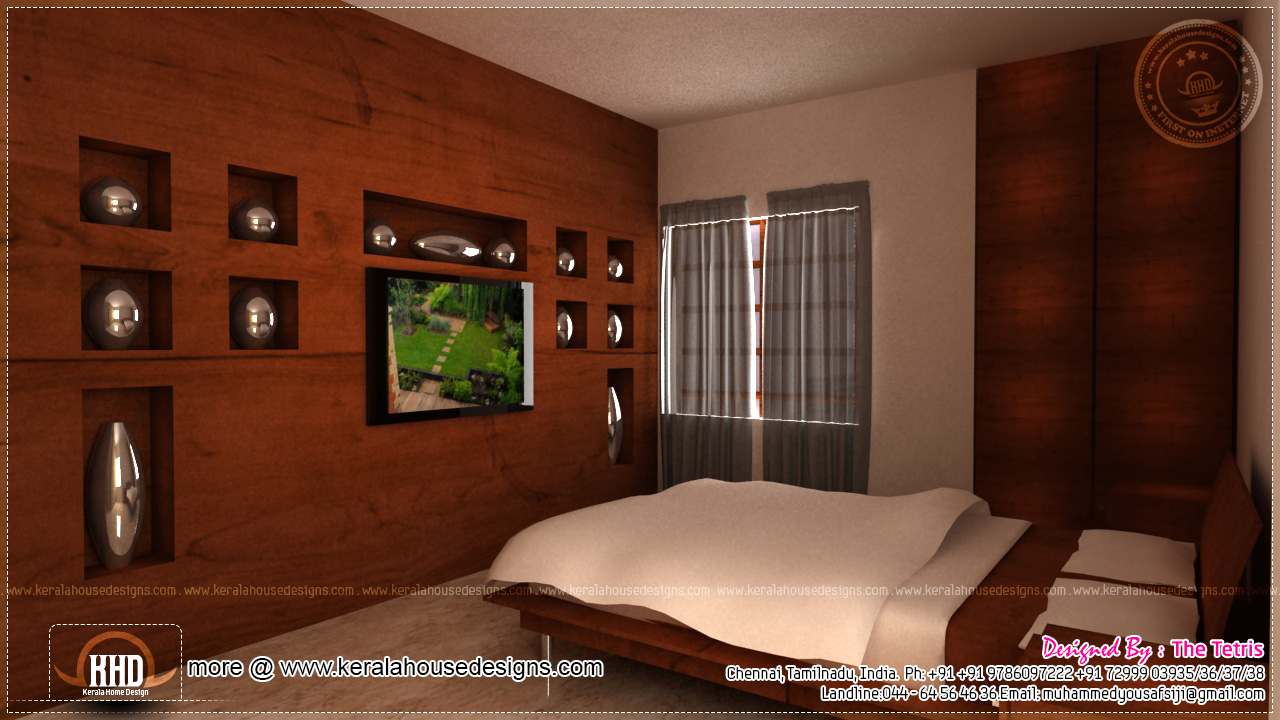 Interior design renderings by tetris architects chennai kerala home design and floor plans for I want interior design for my house