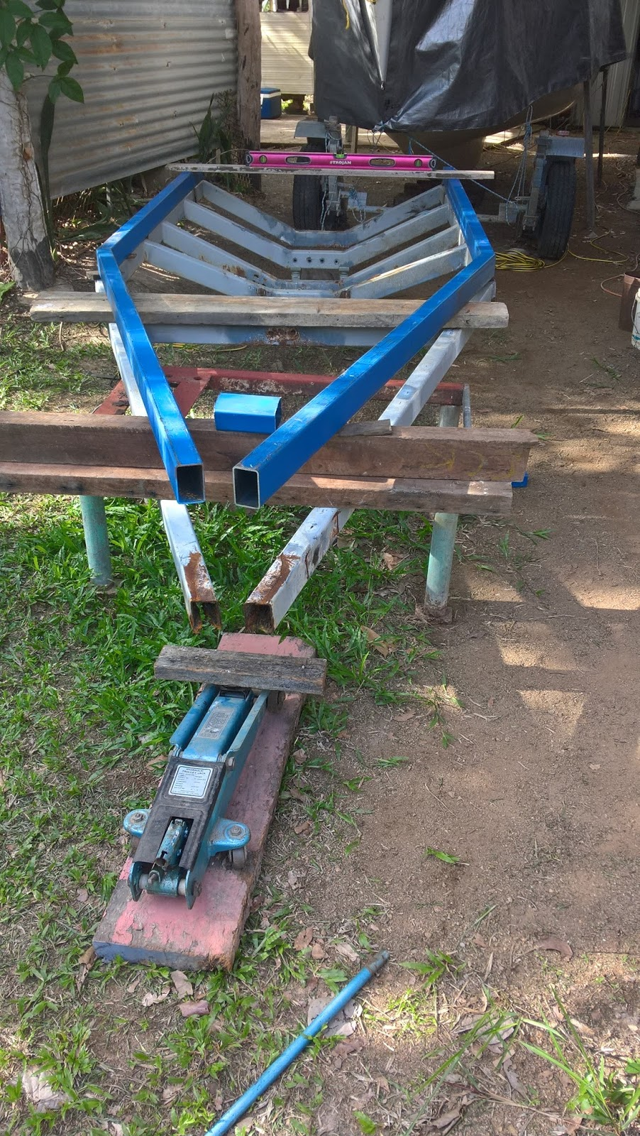 Waterways : Trailer frame rebuild - #3