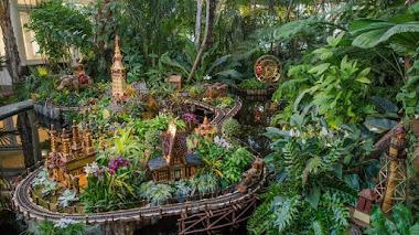 Holiday Train Show 2016 en el Jardín Botánico de Nueva York