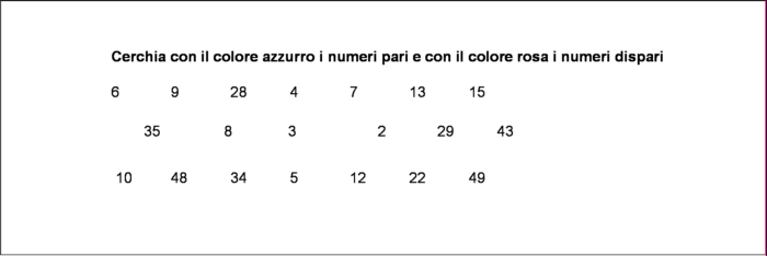 more photos 5a297 39e24 didattica matematica scuola primaria: Numeri pari e dispari ...