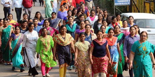 FITNESS: एमडी सिन्हा के आदेश पर हर रोज खुशी खुशी भागते हैं कर्मचारी   EMPLOYEE NEWS