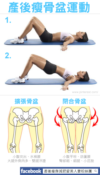 產後縮骨盆瑜珈運動