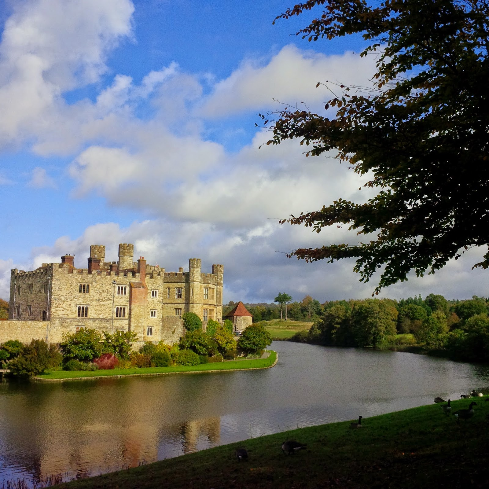 A view of Leeds Castle