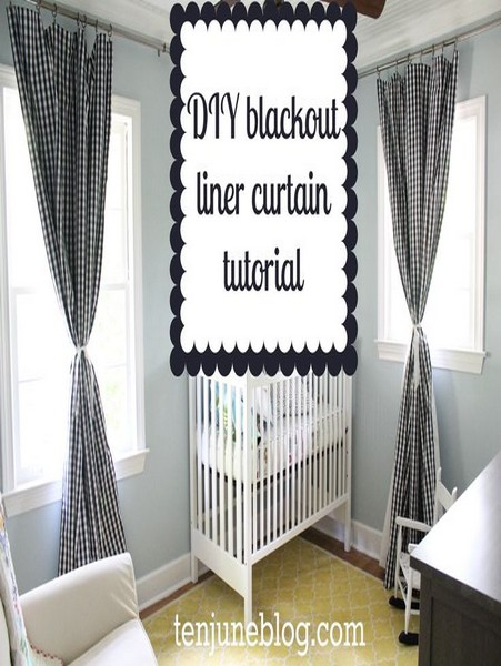 blackout curtain panel liner