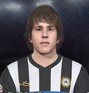 PES 2018 Faces Andrija Balić by Prince Hamiz