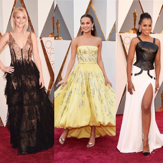 Oscars, beauty, style, Academy Awards, red carpet, Saoirse Ronan, Rachel McAdams, emerald dress, Cate Blanchett, Jennifer Lawrence, Alicia Vikander, Brie Larson, Dior, Louis Vuitton, Kerry Washington, Versace, Neutrogena