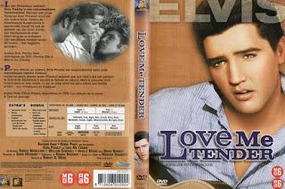 Carátula dvd:Ámame tiernamente (1956)Love Me Tender