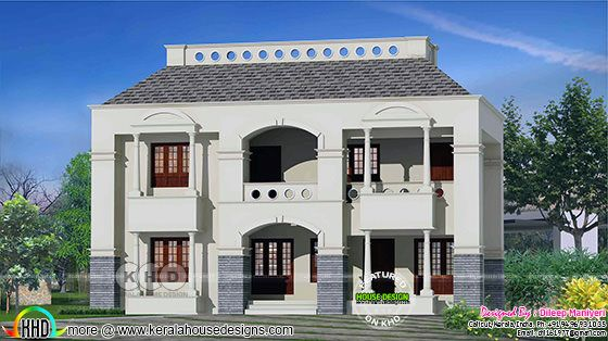 Arabic style home in 40'x60' plot