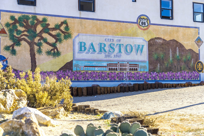 City of Barstow Main Street Murals California Route 66 Road Trip
