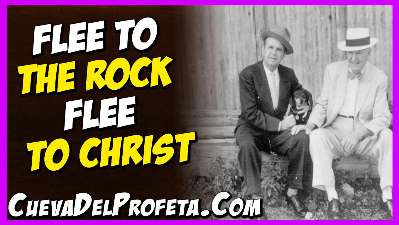 Flee to the Rock Flee to Christ ~ Citas | Quotes | Citações ...