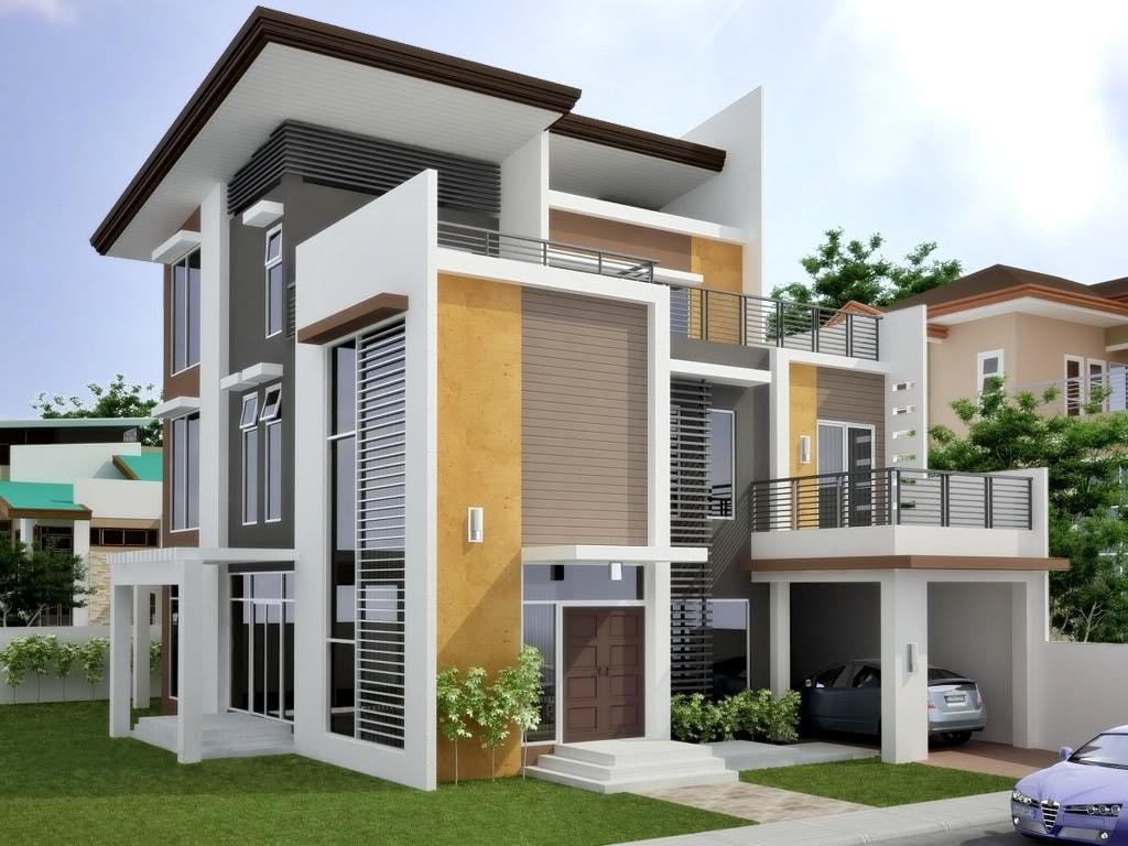 15 Contoh Terbaru Rumah Minimalis 3 Lantai Yang Nampak Mewah Dan