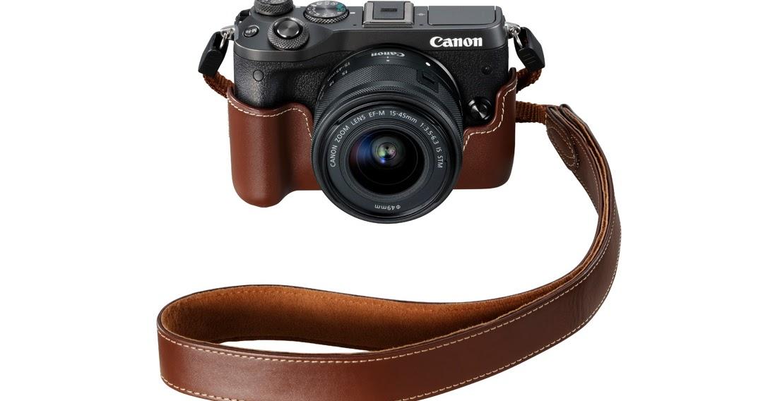 Caratteristiche e video della Canon EOS M6 (e differenze con la M5)