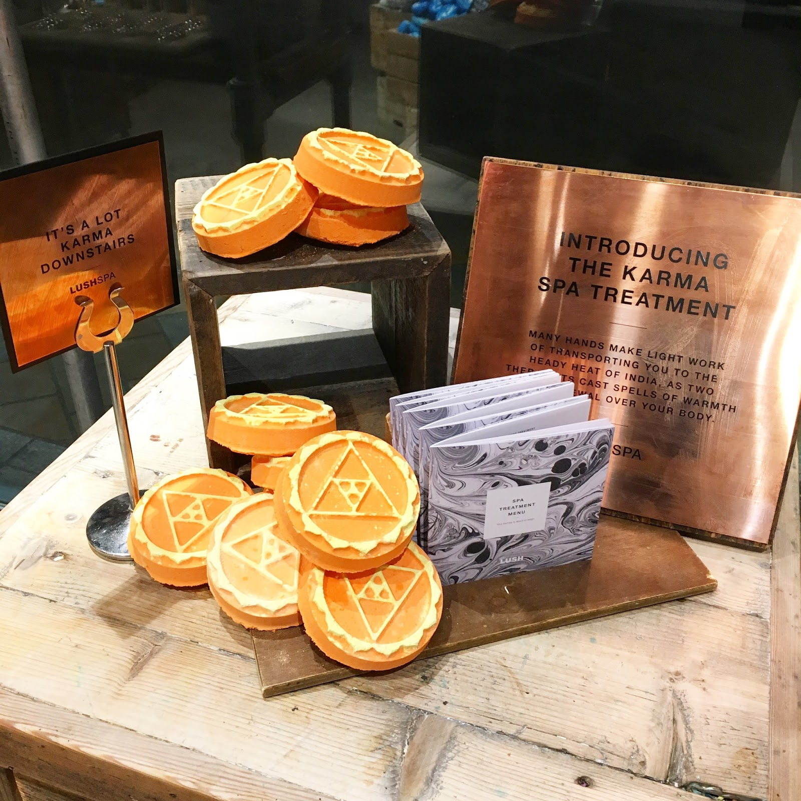 MY SECOND BLOGGER EVENT! KARMA LAUNCH AT LUSH SPA LEEDS!