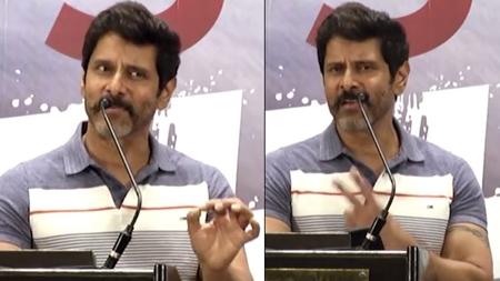 Chiyaan Vikram Gethu Speech@Sketch Success Meet Full Speech | Tamannaah | Thaman SS