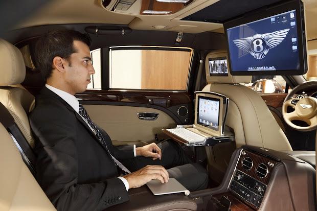 Bentley Executive Interior
