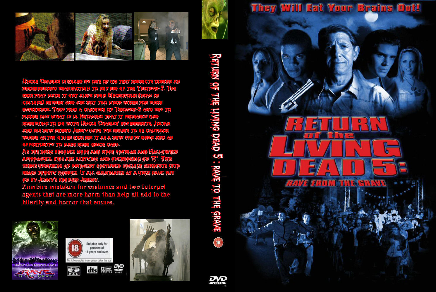 Return of the living dead rave to the grave - 2019 year