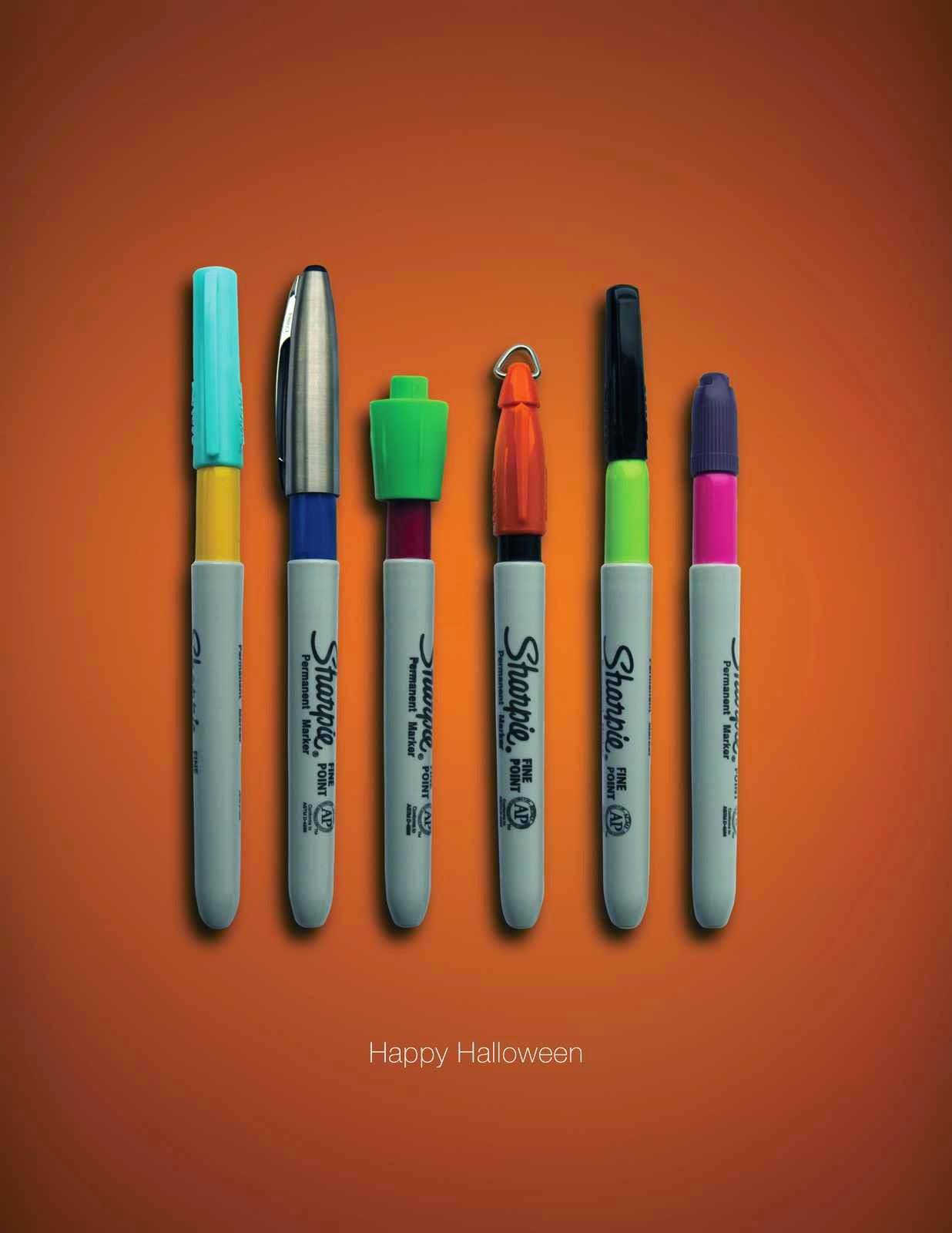 Sharpie Halloween ad