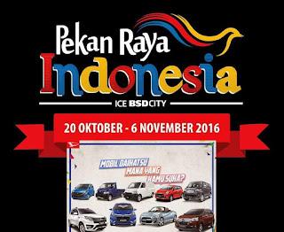 PROMO DAIHATSU PEKAN RAYA INDONESIA 2016 ICE BSD CITY