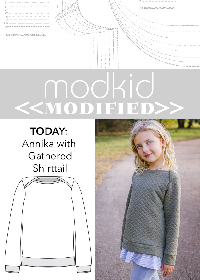 Modkid Modified // Annika with Gathered Shirttail