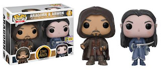 POP Movies: Lord of the Rings - Aragorn & Arwen 2-pack.