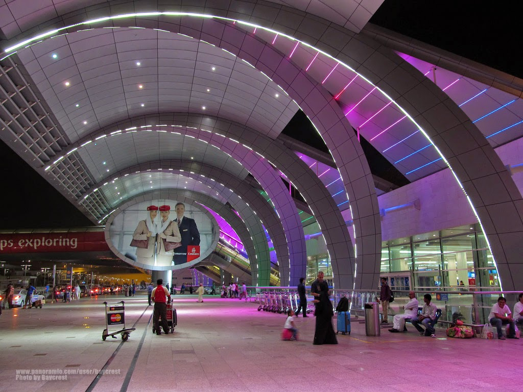 Worlds 10 Busiest airports | Dubai International Airport, Dubai, United Arab Emirates – 66 million passengers each year