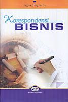 Judul Buku : Korespondensi Bisnis