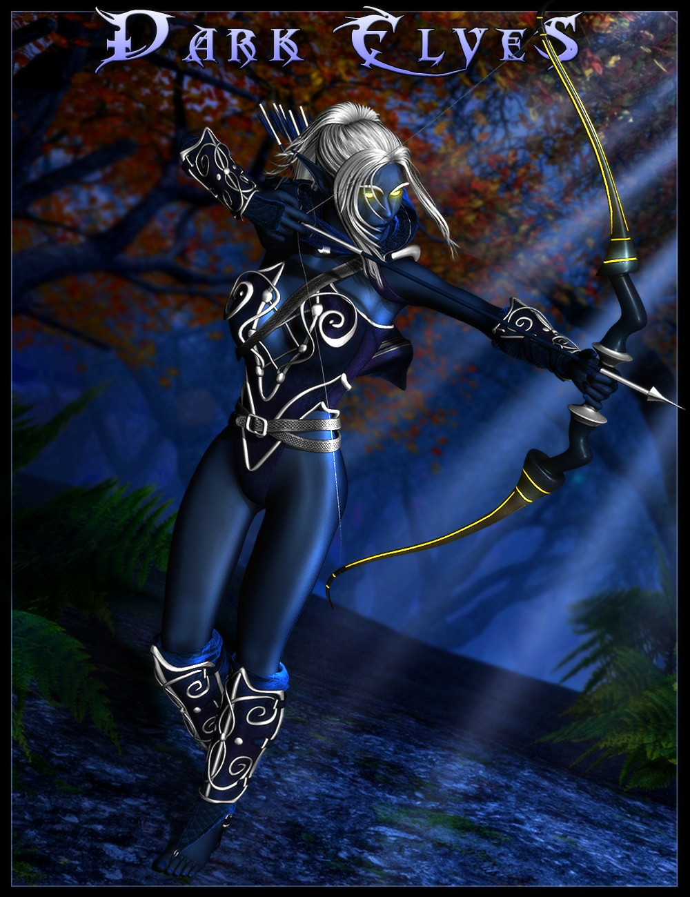 Download Daz Studio 3 For Free Daz 3d Dark Elves For Genesis 2 Female