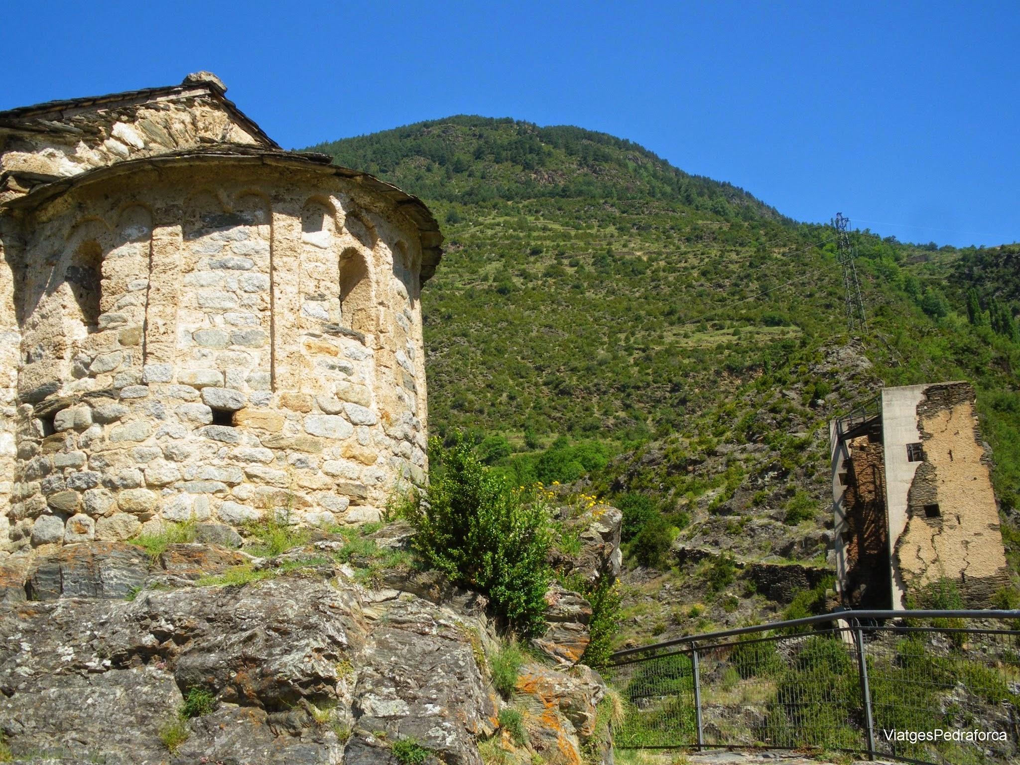 Les Bons, Encamp, Andorra, trekking, senderisme, art romànic