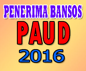 DAFTAR PENERIMA BOP PAUD TAHUN 2016